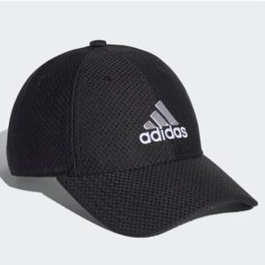 Adidas Climate Black Mesh Logo Cap